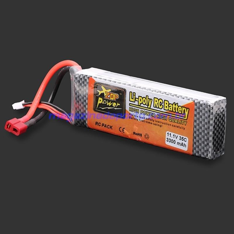 BATERIA LIPO 3S 11.1V 3300MAH 35C T plug