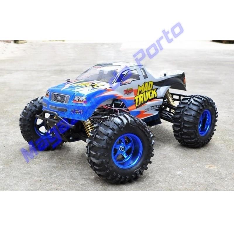 BigFoot Carro Controle Remoto 4x4 Escala 1:10.