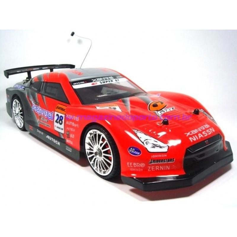 Carro Controle Remoto para Drift e Corrida Escala 1:14 4WD(médio)