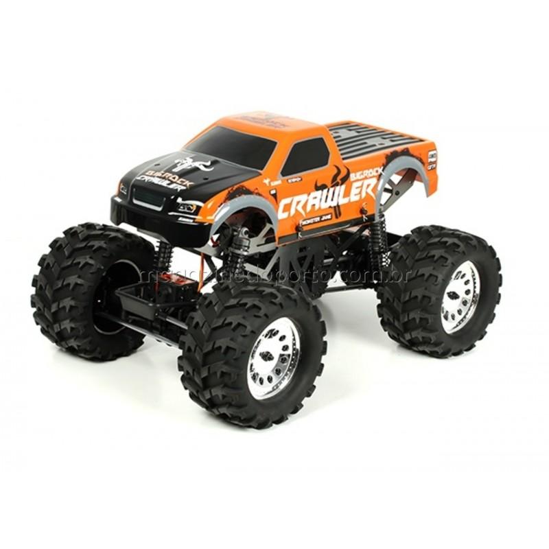 Crawler Profissional 4x4 Direção Dupla Monster 1/10 BigRock Kasemoto
