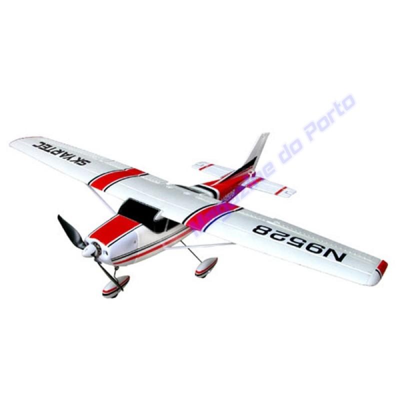 Aeromodelo Cesnna 182 Controle Remoto Kit para montar.
