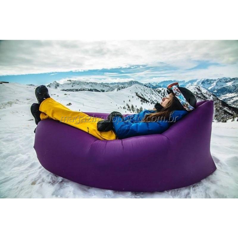 Confortável Super Rede Sofá Barco Inflável Relaxante Para Todo Lugar