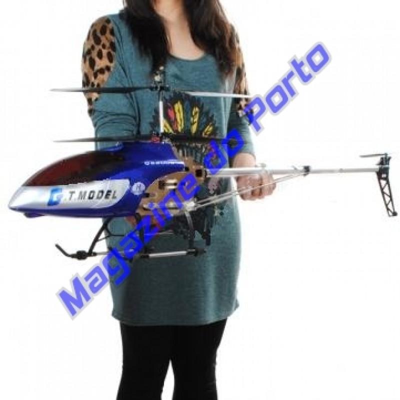 Helicóptero Controle Remoto Gigante! 134cm de comprimento, e 2 velocidades!