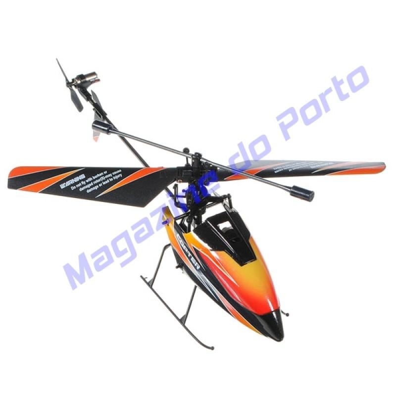 Helicóptero V911 Controle Remoto 2.4Ghz 4 canais.
