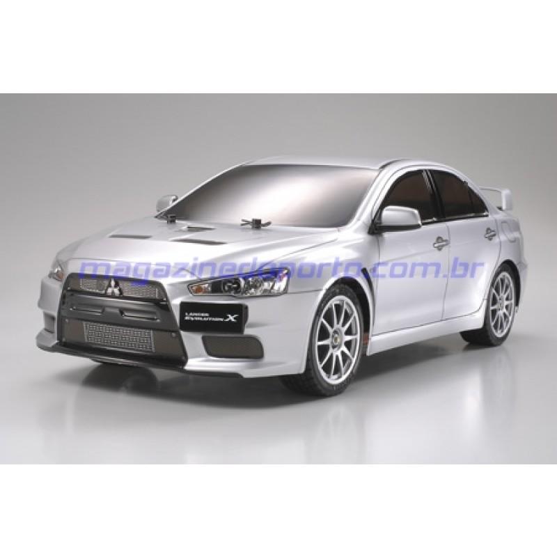 Mitsubishi Lancer Evolution X Controle Remoto Tamiya