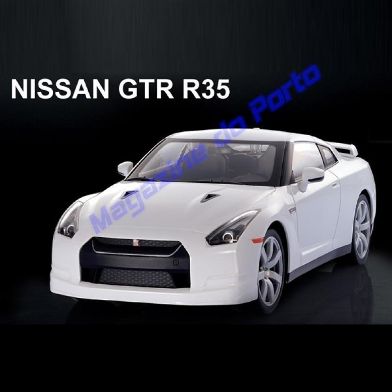 Nissan GTR R35 Controle Remoto 1:14 Licenciado
