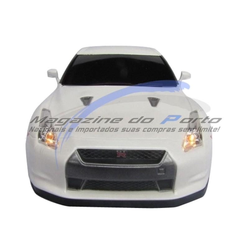 Carro controle remoto, Função total,  Nissan GTR Licenciado pela Marca.