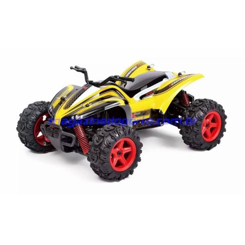 Quadbike de Corrida Off Road 4WD Controle Remoto 2.4GHz