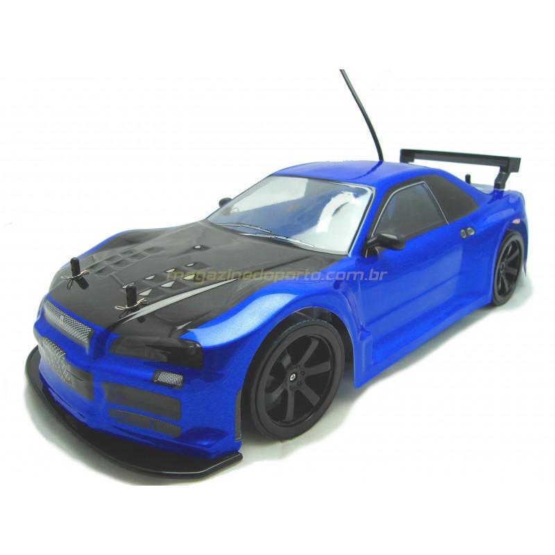 ((SORTEIO))  NISSAN SKYLINE GT R34 VELOZES E FURIOSOS CONTROLE REMOTO COM TURBO