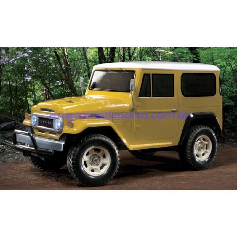 TOYOTA LAND CRUISER 40 4WD CONTROLE REMOTO TAMIYA