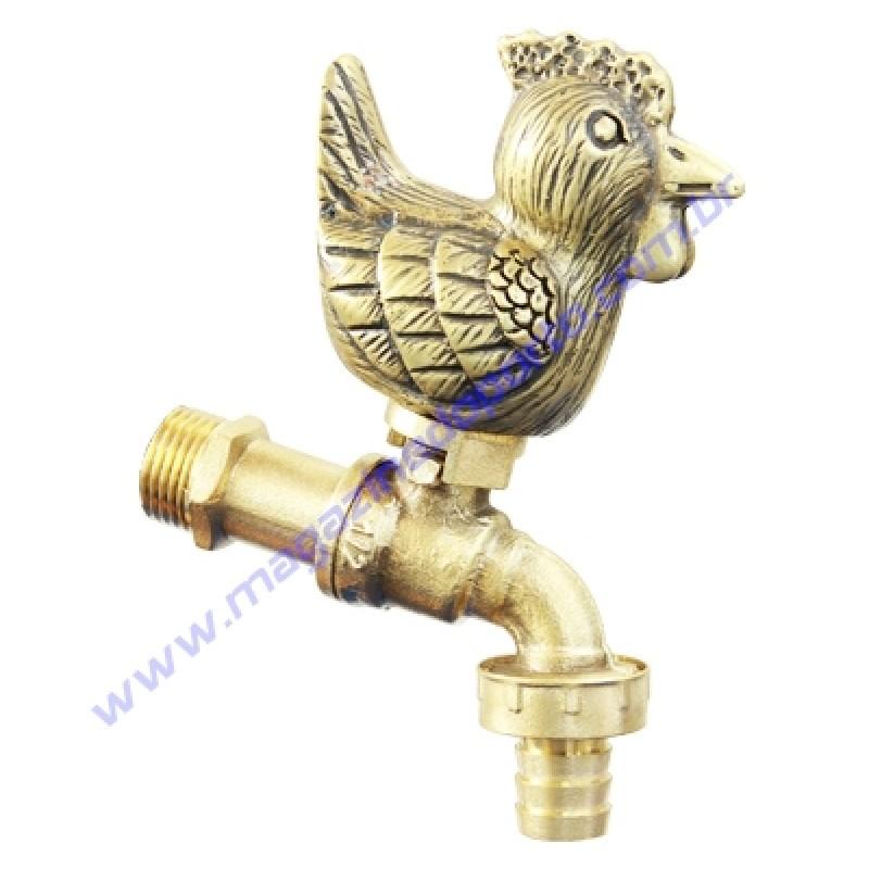Torneira Tailandesa Personalizada com Decoração (galinha)