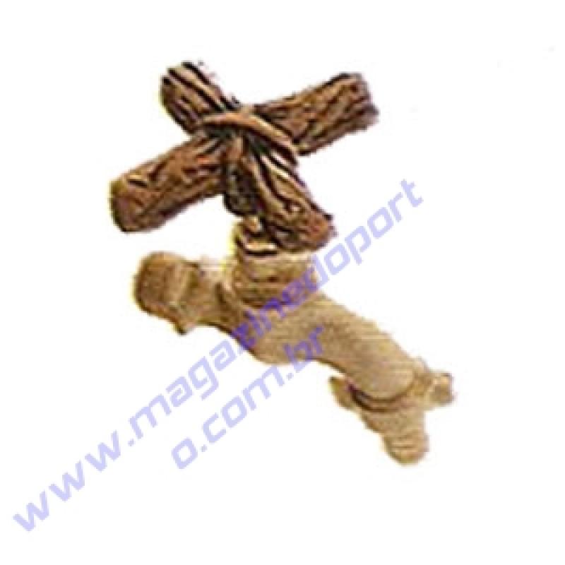 Torneira Tailandesa Personalizada com Decoração (galho)