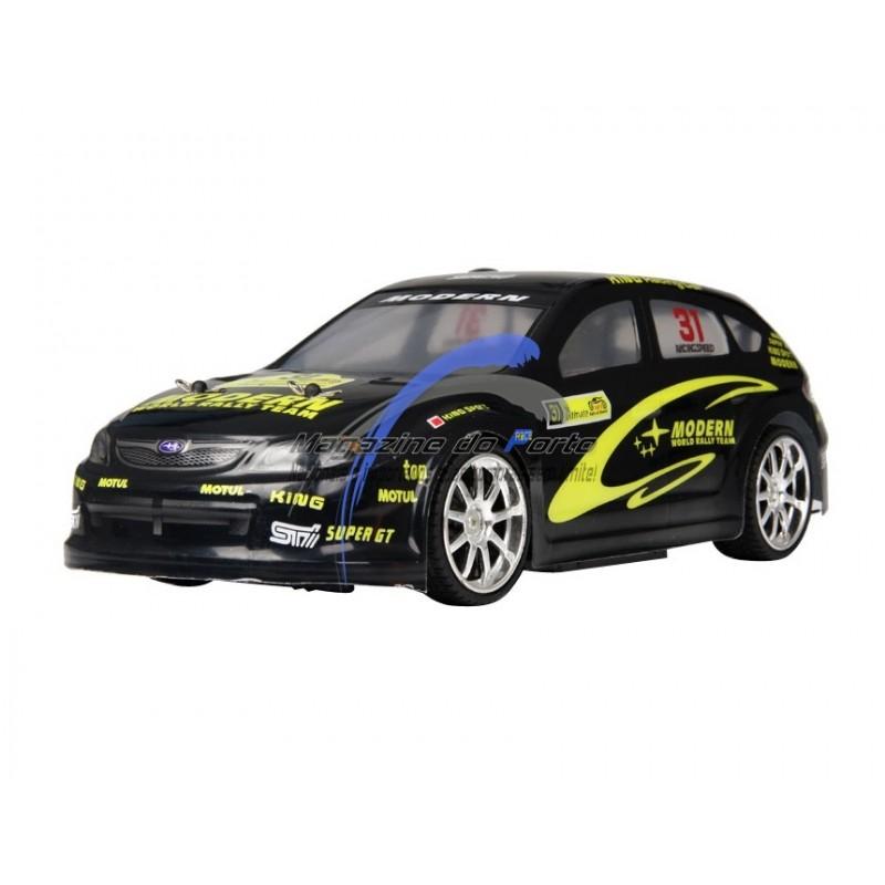 Carro RC Drift Subaru Imprenza Controle Remoto Kit completo com + 4 Rodas