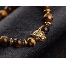 Bracelete Olho de Tigre Natural Thai