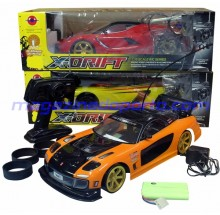 CARRO DRIFT E CORRIDA COM TURBO E COM UPGRADE DE LUZES ESCALA 1:10