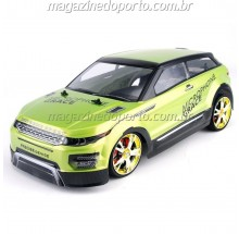 EVOQUE DRIFT E CORRIDA 1:10 4WD COM LUZES E NEON CONTROLE REMOTO 2.4GHz verde