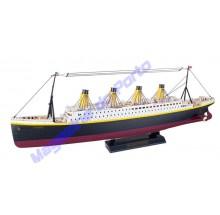 Titanic Controle Remoto Modelo 4 Canais Com Luzes