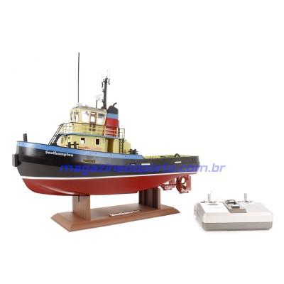 Barco Controle Remoto Rebocador SOUTHAMPTON Nautimodelismo
