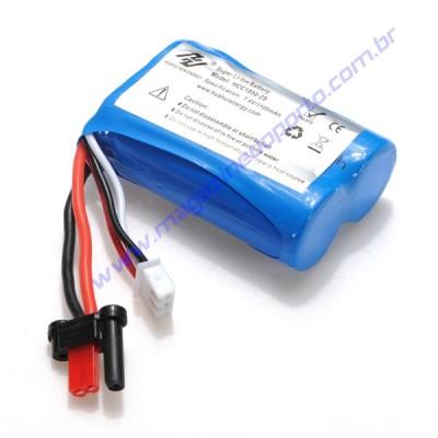 Bateria para Lancha de Corrida Controle Remoto 2.4Ghz. 30km/h Nautimodelismo