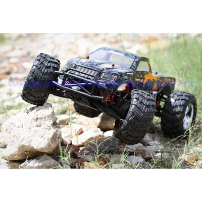CARRO BIG FOOT 4WD 1:10 CONTROLE REMOTO KASEMOTO