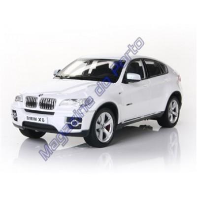 Carro BMW X6 Controle Remoto Licenciado 1:16 6 Canais RC Branca