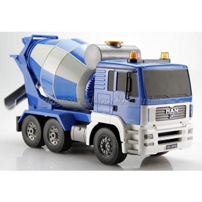 Caminhão Betoneira Controle Remoto Luzes e Som de Motor Função Total