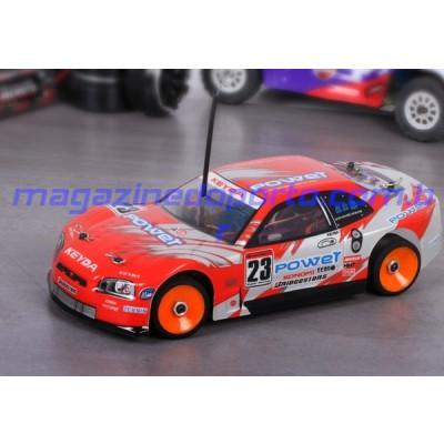 Carro 1/18 Drift 4wd Mini Storm Controle Remoto 2.4GHz Profissional Kasemoto
