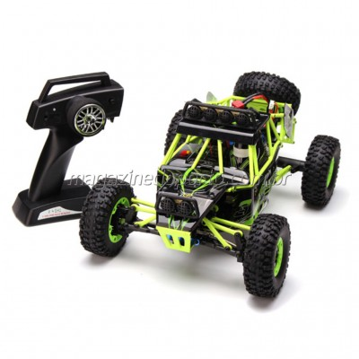 Carro Off Road 4WD Crawler 1/12 controle remoto 2.4 GHz Com LED