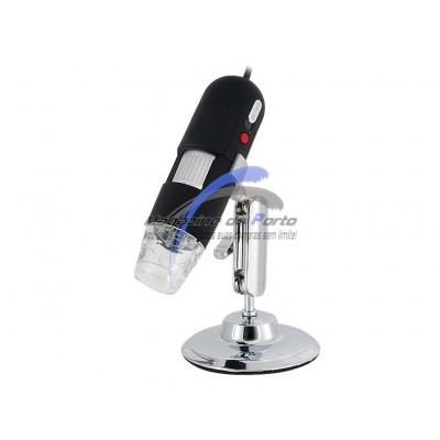 Microscópio USB 800x.