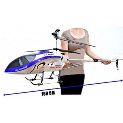 Helicóptero Gigante 168cm de Comprimento Controle Remoto Completo