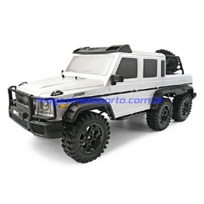 Jeep 6WD de Aventura Off Road Crawler Escalador Controle Remoto 2.4GHz 1/10