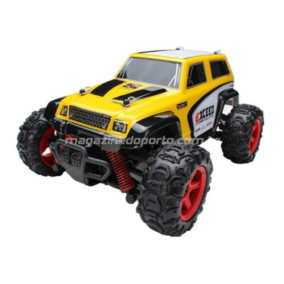 Jeep Off Road 4WD Controle Remoto 2.4GHz Completo