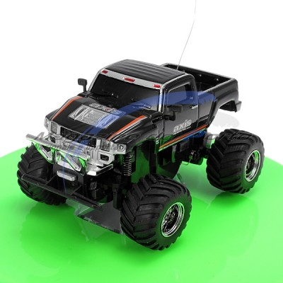 Mini Carro Off Road Pickup Cross Country Controle Remoto Menor Carro do Mundo!