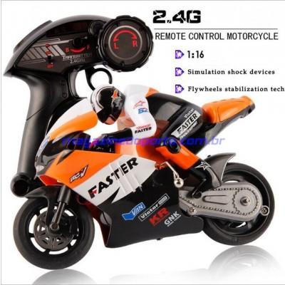 Moto Controle Remoto 4 Canais 2.4GHz Completa