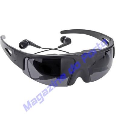 Video Óculos Virtual Assita TV,  Filmes, Jogue seu Game Preferido em uma Tela Equivalente a 60 Polegadas!!!