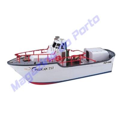 Barco Controle Remoto Pelican Escala 1:25