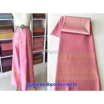 Seda Tailandesa Para Confecção de Saias Vestidos Blusas ou Bolsas