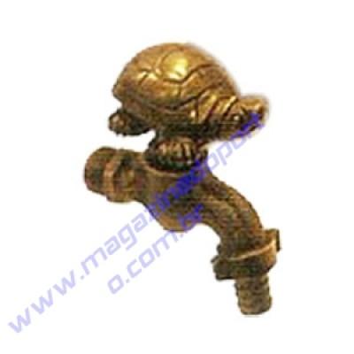 Torneira Tailandesa Personalizada com Decoração (tartaruga)