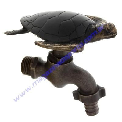Torneira Tailandesa Personalizada com Decoração (tartaruga marinha)
