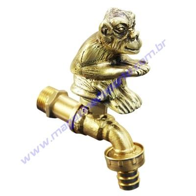 Torneira Tailandesa Personalizada com Decoração (macaco)