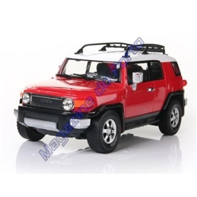 Carro Toyota Fjcruiser Controle Remoto Licenciado 1:16 4 Canais RC Vermelho