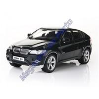 Carro BMW X6 Controle Remoto Licenciado 1:16 6 Canais RC Preto