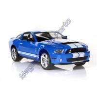 Carro Ford GT500 Licenciado 1:16 4 Canais Controle Remoto Racing Car Azul