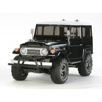 TOYOTA LAND CRUISER 40 4WD CONTROLE REMOTO BLACK SPECIAL TAMIYA